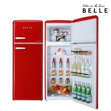 [하이마트 설치] 레트로 냉장고 220L 레드 컬러 / RD22ARD 1등급