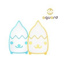 고도치 샤워솔 1입 저자극 베이비 목욕 타월 유아 실리콘 아기목욕 용품 옐로우