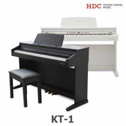 [혜택가 418,520원][설치착불 3.5만원] 영창 디지털피아노 KT1(화이트/로즈우드)