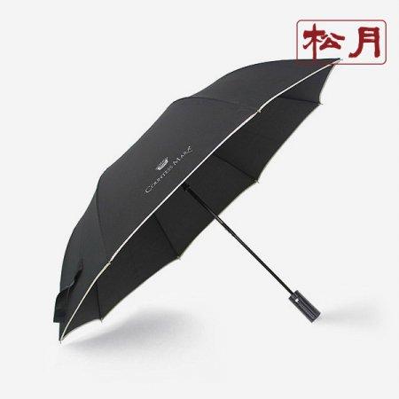 카운테스마라 2단 폰지바이어스 우산 회색