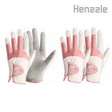 뉴헨즐3 여성 양손,오른손잡이용 골프장갑 연습용장갑 양손용:18호