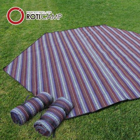 캠핑 휴대용 피크닉 육각 매트 중형