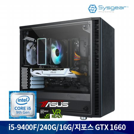 인텔 코어 i5 9세대 9400F + GTX 1660 GC46B 게이밍PC [Window 미포함]