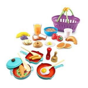 [캐스B]플레이 이지쿠킹 아침식사 + [러닝리소스] 아침식사 바구니(9730)