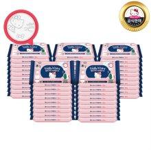 (무료배송)헬로키티 비데물티슈 10매 휴대용 50팩