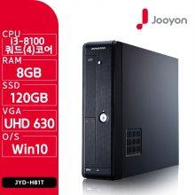 i3-8100 쿼드코어 PC/ 윈도우 10 탑재 JYD-H81T
