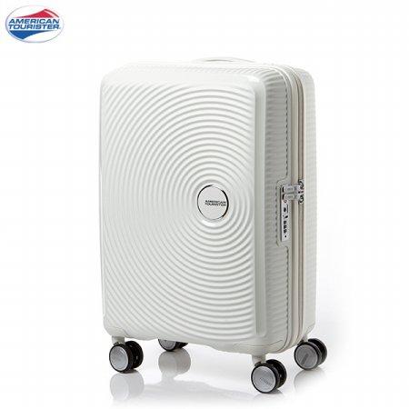 큐리오 캐리어 화이트 기내용 55/20 WHITE 사운드박스 CURIO 샘소나이트_AO805001