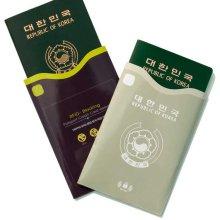피트래블 트리피그 RFID차단 여권 슬리브 올리브
