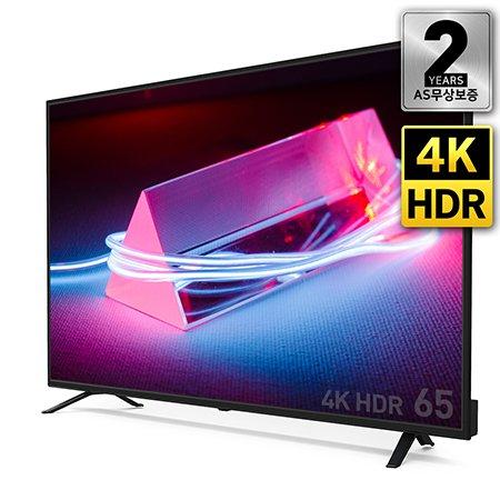 165cm 4K HDR TV RGB패널 2년무상보증 USB 4K 재생지원 / PT650UD [스탠드 자가설치]
