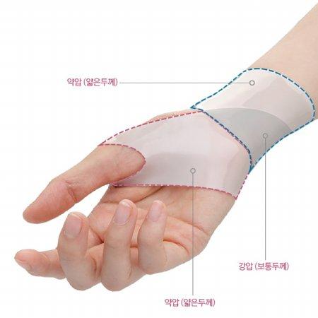 손목 보호대 흰색