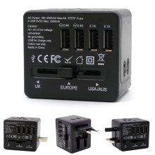[트래블이지]여행용 4포트 USB아답터 블랙