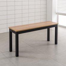 철제 2인의자 철재벤치 식탁의자 업소의자(T10B-2) 01.2인의자_LPM_아카시아(T10B-2)