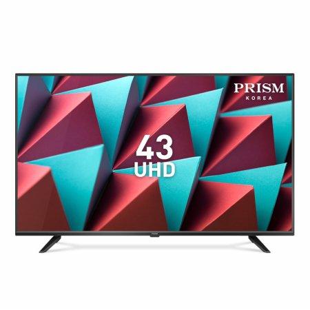 109cm 4K HDR TV RGB패널 2년무상보증 / PTI430UD [벽걸이 설치(기사방문,상하브라켓포함)]