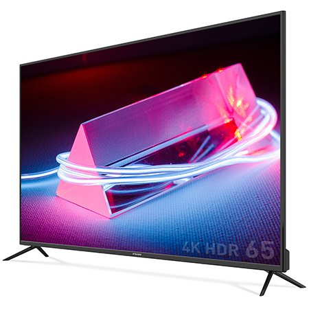 165cm 4K HDR TV RGB패널 2년무상보증 USB 4K 재생지원 / PT650UD [스탠드 설치(기사방문)]