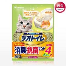 데오토일렛 고양이모래, 항균패드 초특가!