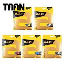 TAAN/A3/배드민턴라켓/스트링/거트/줄/10m/용품 A3 옐로우(스트링)