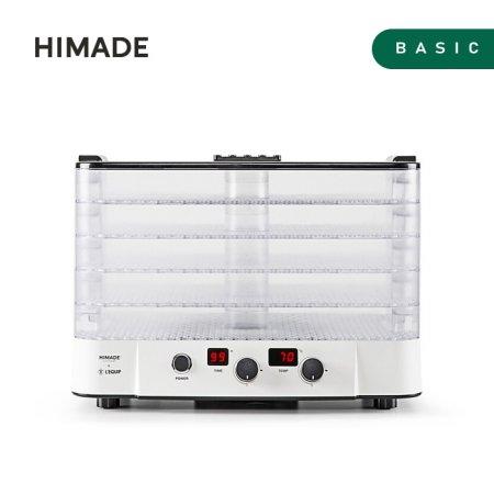 리큅x하이메이드 식품건조기 HFD-LQ530W [에어필터 / 타이머 / 투명 트레이]
