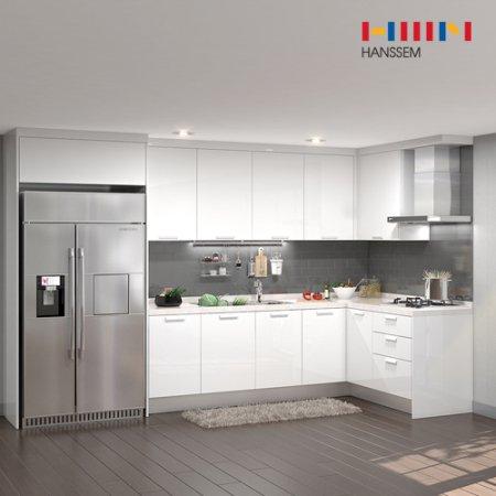 EURO 9000 리치스페셜(ㄱ자/냉장고장형/4.7m초과~5.3m이하) 상/하-리치펄화이트