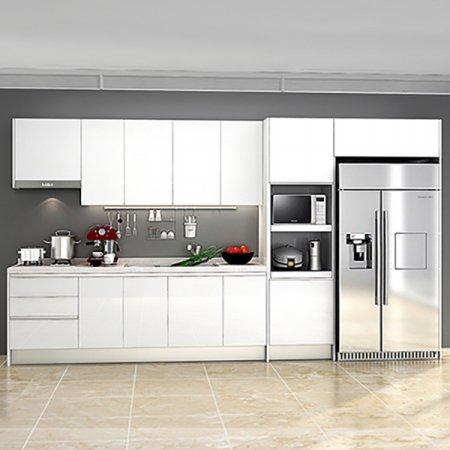 원더 화이트(키큰장+냉장고장형/ㅡ자형/∼3.3m이하) 화