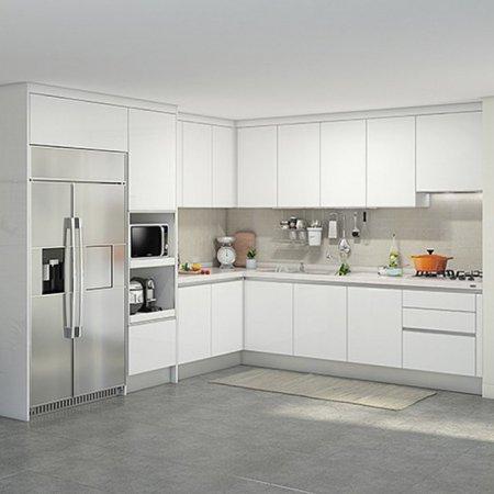 EURO 9000 프리모화이트(ㄱ자/키큰장+냉장고장형/5.3m초과~5.9m이하)
