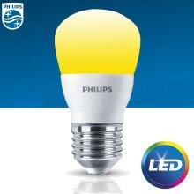 LED Mini 4W 전구색(오렌지) 1개입
