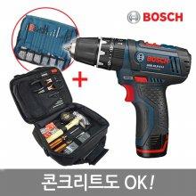 [핸픽스]보쉬10.8V리튬충전전동드릴세트_GSB10.8홈패키지