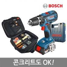 [견적가능]보쉬GSB18-2-LI Plus(1B)만능충전전동드릴공구세트(드릴+56P수공구가방)