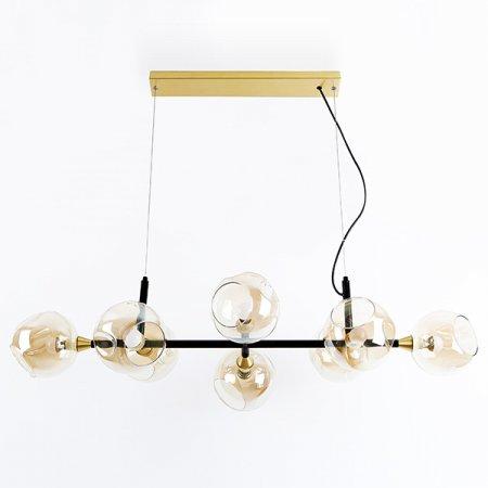 LED램프포함 플럼 8등 일자형