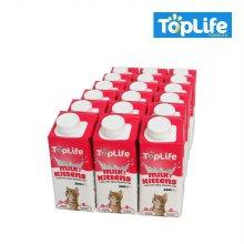 탑라이프 고양이 우유 자묘 200ml x18개