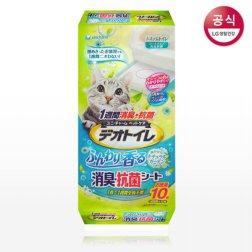 데오토일렛 소취 항균 패드 10P (향)
