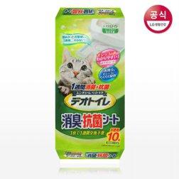 데오토일렛 소취 항균 패드 10P(무향)