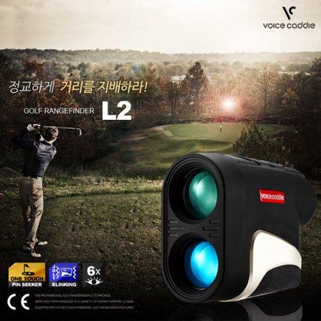 보이스캐디 L2 슬로프 레이저 거리측정기 레이저 L2 블랙