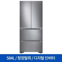 스탠드형 김치냉장고 RQ58N9123S8 (584L) 김치플러스/4도어