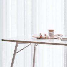 DSBD814A 4인 테이블 (콘센트형) (1400*800) 화이트+화이트