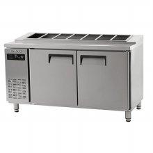 에버젠 간냉 김밥테이블 1500UDS-15GIE (자가설치 배송상품)