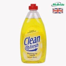 영국 맥브라이드 주방세제 레몬 500ml