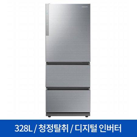 스탠드형 김치냉장고 RQ33N72227L (328L) 김치톡톡/3도어
