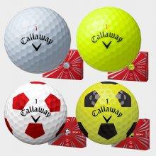 (한국캘러웨이 정품) 16 크롬소프트 골프볼 (4피스) [16 크롬소프트볼(4PCS) 옐로우]