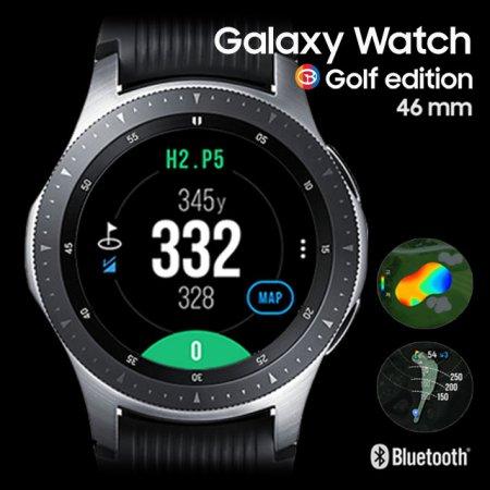 (판매종료)삼성 갤럭시 워치 골프에디션 GPS 골프거리측정기(46mm)_46mm 실버