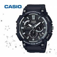 카시오 MCW-200H-1A 남성 우레탄밴드 손목시계