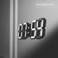 오리지널 블랙에디션 LED 벽시계(전선길이 3.3m)