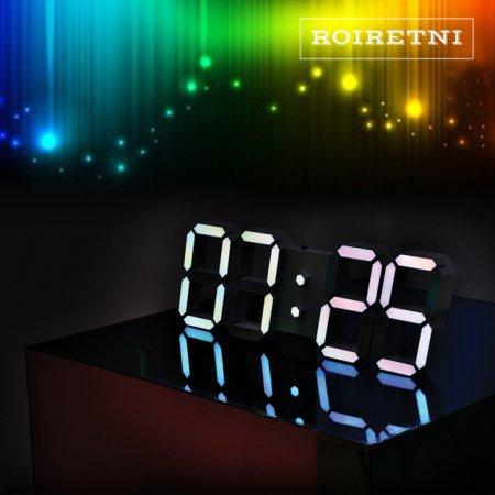 프리즘 에디션 LED 벽시계(전선길이 3.3m)