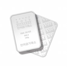 한국금거래소 silver bar 100g