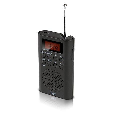 [비밀쿠폰]브리츠 휴대용 라디오[블랙][BZ-R3740]