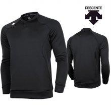 데상트 남성 긴팔 티셔츠 S8311WTL04-블랙 _90S