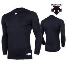 데상트 남성 컴프레션 티셔츠 S8311WCO03-네이비 _95M