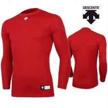 데상트 남성 컴프레션 티셔츠 S8311WCO03-레드 _95M