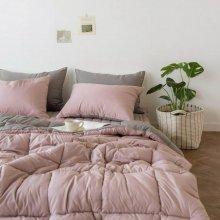 듀오 알러지케어 차렵이불 단품 퀸Q (3colors) 핑크