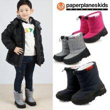 PK7792 아동 겨울 패딩 부츠 털 운동화 네이비:150