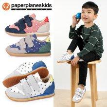 [페이퍼플레인키즈] PK7718 아동 운동화 아동화 어린이 남아 여아 유아 주니어 슈즈 신발 브랜드 찍찍이 단화 축구화 캔버스 덧신 플렛 양말 삑삑이 캐릭터 화이트:130